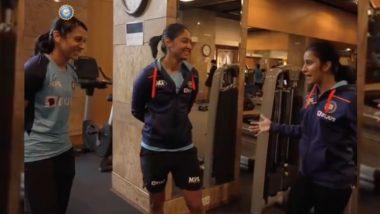 Smriti Mandhana, Harmanpreet Kaur Have Fun Chat With Jemimah Rodrigues Ahead of England Tour (Watch Video)