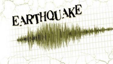 India News | 3.6 Magnitude Earthquake Hits Arunachal Pradesh's West Kameng
