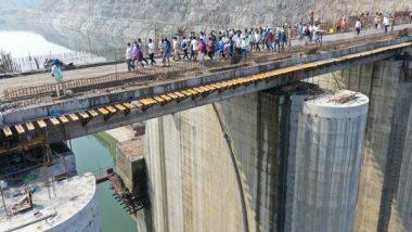 India News | Polavaram Project: Godavari Water Released to Delta Through Spillway