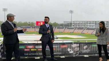 Dinesh Karthik Thanks Fans for their Response After His Debut in Commentary Box During WTC 2021 Finals (Watch Video)