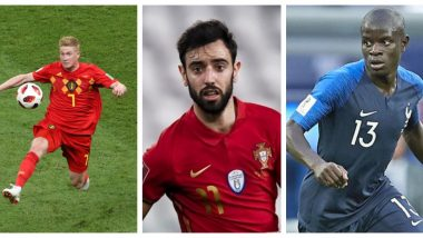 Euro 2020: From Kevin de Bruyne to Bruno Fernandes, Check Three Midfielders To Watch Out for