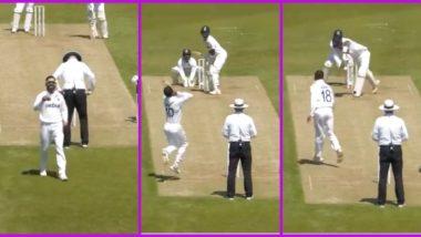 Team India Intra-Squad Practice Match: Virat Kohli Bowls to KL Rahul (Watch Video)
