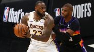 NBA Playoffs 2021: From Lakers vs Suns to Clippers vs Mavericks, Top-Searched Playoff Matchups During 2020–21 NBA Season