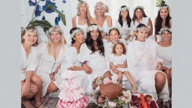 Mom-to-Be Lisa Haydon Shares Adorable Baby Shower Photos