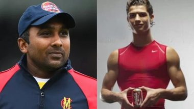 Mahela Jayawardena Takes a Jibe at Cristiano Ronaldo While Responding to a Fan who Compared Sri Lankan Cricketer To CR7 for Promoting Coca-Cola