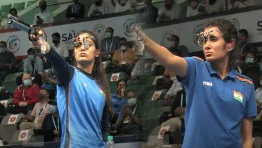 Manu Bhaker, Yashaswini Deswal & Rahi Sarnobat Bag Bronze Medal in ISSF World Cup 2021