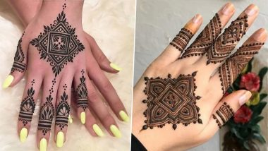 Simple Vat Savitri 2021 Mehndi Design Ideas: From Indian to Arabic, Quick and Easy Beautiful Henna Patterns to Put on Your Hands for Vat Purnima