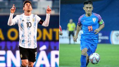 Lionel Messi Surpasses Sunil Chhetri With Brace Against Bolivia in Copa America 2021