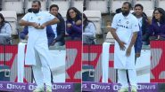 Why Mohammed Shami Wrapped Himself With a Towel? Twitterati Come Up With Interesting Answers