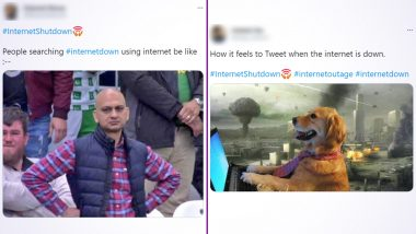 #InternetShutdown Trends on Twitter after Major Sites Like Amazon, Reddit and Others Go Down; Netizens Churn Out Hilarious Memes