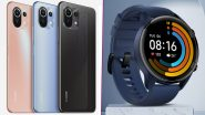 Xiaomi Mi 11 Lite & Mi Watch Revolve Active To Be Launched Today in India, Watch LIVE Streaming Here