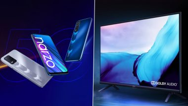 Realme Narzo 30 5G, Narzo 30, Buds Q2 & 32-inch Smart TV Launching Today in India; Watch LIVE Streaming Here