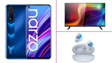Realme Narzo 30 5G, Narzo 30, Realme Buds Q2 & Smart TV 32-Inch Launched in India