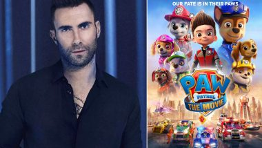 PAW Patrol–The Movie: Adam Levine To Contribute Original Song for the Animated Flick