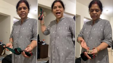 Desi Mother's Reaction to Daughter Buying Gucci Belt Worth Rs 35,000 Goes Viral, Video Has Netizens Amused (Watch)