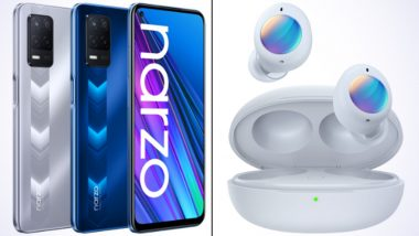 Realme Narzo 30 5G & Realme Buds Q2 To Go on First Sale Today at 12 Noon, Check Prices & Exciting Offers Here