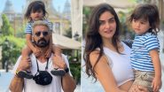 Arjun Rampal Shares Snaps From His Budapest Vacation, Gabriella Demetriades and Son Pose for Happy Pictures