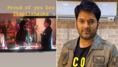 Kapil Sharma Gets a Mention in Netflix Anthology Ray, Harsh Varrdhan Kapoor Gives Him a Shoutout on Twitter