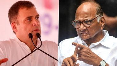 Rahul Gandhi Should Join Hands With NCP Chief Sharad Pawar to Bring Opposition Parties Together, Says Shiv Sena