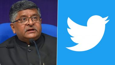 IT Minister Ravi Shankar Prasad Blasts Twitter, Says It Failed to Comply With New Guidelines