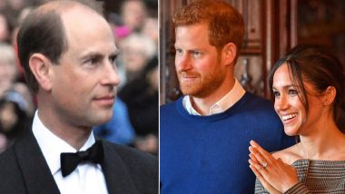 Prince Edward Jokingly Shades Oprah Winfrey's Interview With Meghan Markle, Prince Harry