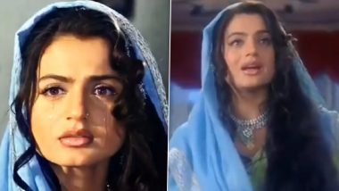 20 Years Of Gadar: Ameesha Patel Shares One of Her Favourite Scenes From Sunny Deol Starrer, Calls It a 'Challenging Scene to Perform' (Watch Video)