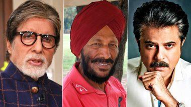 RIP Milkha Singh: Amitabh Bachchan, Anil Kapoor, Shabana Azmi and Other Veteran Actors Mourn the Loss of India's Legendary Sprinter