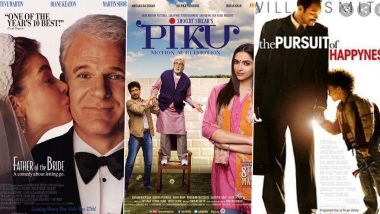 Father's Day 2021: Steve Martin's Father Of The Bride, Amitabh Bachchan's Piku, Will Smith's The Pursuit Of Happyness, Films and Series You Can Binge-Watch With Your Dad