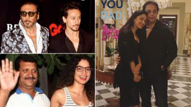 Father's Day 2021: Kangana Ranaut, Tiger Shroff, Kiara Advani and Other Bollywood Celebs Extend Special Greetings For Their Dad