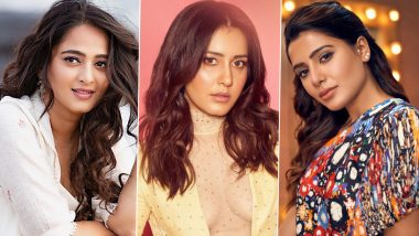 Raashii Khanna Is in Awe of Anushka Shetty and Samantha Akkineni, Says 'These Women Are Changing the Way People Are Looking at Actresses Down South'