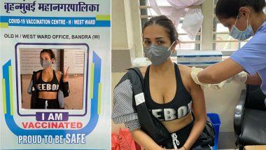 Malaika Arora Gets Second Dose of COVID-19 Vaccine