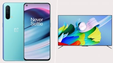 OnePlus Nord CE 5G & OnePlus TV U1S Launched in India; Check Prices, Features, Variants & Specifications