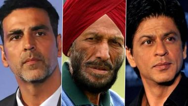 Milkha Singh No More: Shah Rukh Khan, Akshay Kumar, Priyanka Chopra and Other B-Town Celebs Pay Heartfelt Tributes to India's Legendary Athlete