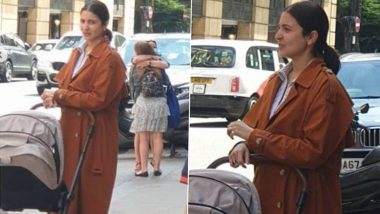 Anushka Sharma's Pictures While She Takes a Stroll With Baby Vamika in the UK Go Viral on the Internet