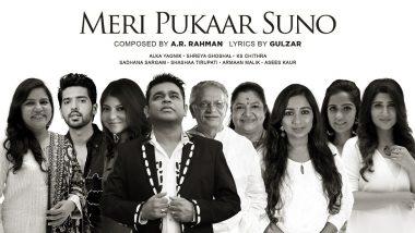 Listen To A R Rahman And Gulzar's Meri Pukar Suno