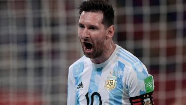 Lionel Messi Closes In On Diego Maradona's Free-Kick Record With Goal Against Chile in Copa America 2021