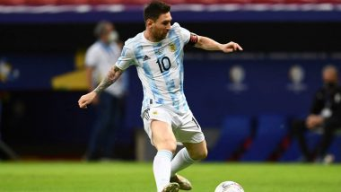 Lionel Messi Gives Colombian Defenders a Run for Their Money During Copa America 2021 Semi-Final, Argentina Captain's Video Goes Viral