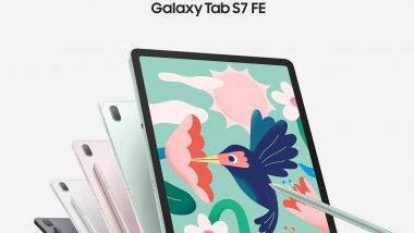 Samsung Galaxy Tab S7 FE, Galaxy Tab A7 Lite Launched in India; Check Prices, Features & Specifications