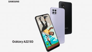 Samsung Galaxy A22 5G & Galaxy A22 4G Launched; Check Prices, Features & Specifications