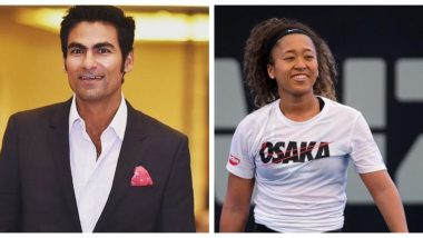 Mohammad Kaif Supports Naomi Osaka, Says 'Let's Be Sensitive, Players in Their Weak Moments Should Be Allowed to Avoid Media'