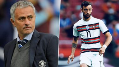 Bruno Fernandes Wasn't Playing: Jose Mourinho Slams Portugal Star for Poor Performance in Euro 2020