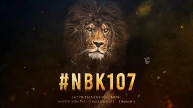 #HappyBirthdayNBK: Nandamuri Balakrishna And Gopichand Malineni Come Together For NBK107 And It Promises A Hunt (Watch Video)