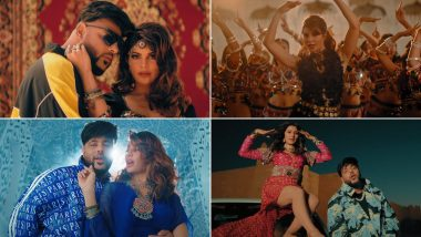 Paani Paani Music Video: Badshah's New Song With Jacqueline Fernandez Is a Visual Treat, Aastha Gill's Soothing Vocals Does the Trick