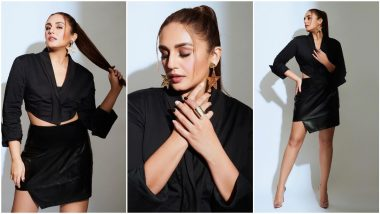 Huma Qureshi Continues Her Promotions for Maharani, Makes a Strong Case for an All Black Outfit