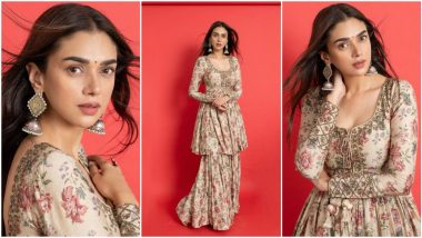 When Aditi Rao Hydari's Packed a 'Floral Punch' With Her Dreamy Attire (View Pics)
