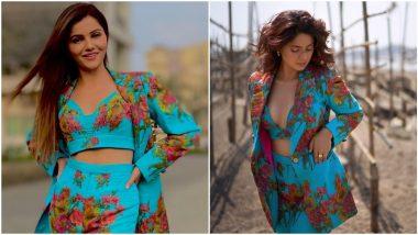 Fashion Faceoff: Jennifer Winget or Rubina Dilaik, Who Nailed This Blue Printed Pantsuit Better?