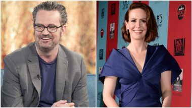 Friends Star Matthew Perry Once Said 'No' To Kissing Sarah Paulson at a Make-Out Party