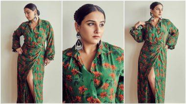 Yo or Hell No? Vidya Balan's Green Maxi Dress By Masaba Gupta