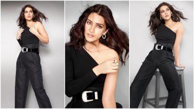 Kriti Sanon Strikes a Pose in Her All-Black Attire and We're Smitten (View Pics)