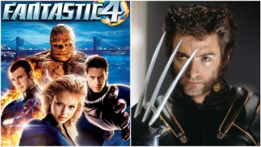 Wolverine in 2005's Fantastic Four: Did You Know Hugh Jackman Had a 'Cameo' in Jessica Alba and Chris Evans' Superhero Film? (Watch Video)